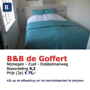 bed and breakfast De Goffert Nijmegen