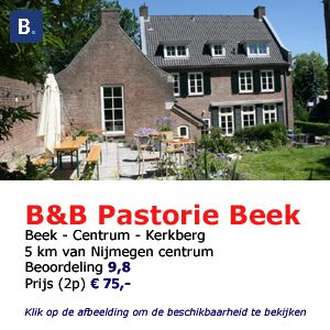 bed and breakfast pastorie beek