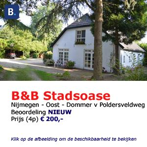 bed and breakfast stadoase bijmegen