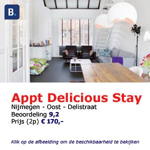 bed and breakfast deliciousstay Nijmegen