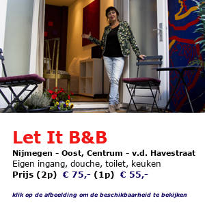 bed and breakfast letit Nijmegen