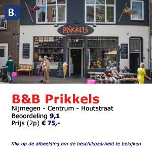 bed and breakfast Prikkels Nijmegen